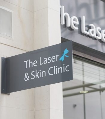 The Laser Skin Clinic sign